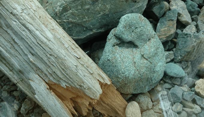 石で隠す②
