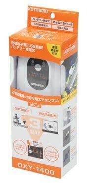 充電式エアポンプ オキシー 1400