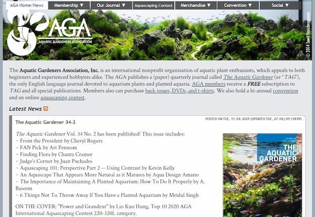 AGAのホームページ